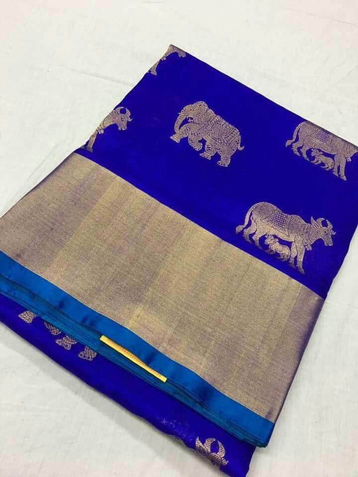 Kanchipuram silk saree ready to dispach Order what's app 7995736811