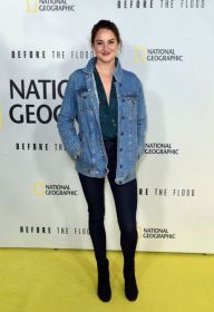 Shailene Woodley at arrivals for BEFORE THE FLOOD Premiere Presented by National Geographic Channel, United Nations Headquarters - UN General Assembly Hall, New York, NY October 20, 2016. Photo By: Derek Storm/Everett Collection | Premiere