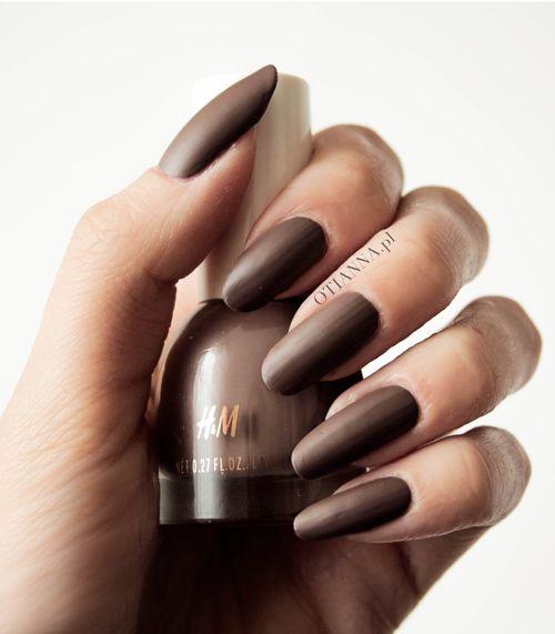 H&M matowe lakiery do paznokci - jaka cena? | Ile kosztuje lakier do paznokci w H&M? | h&m nails | h&m nail polish | h&m lakier matujący | blog | review |