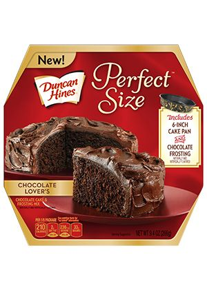 Duncan Hines® Perfect Size Chocolate Lover's Cake