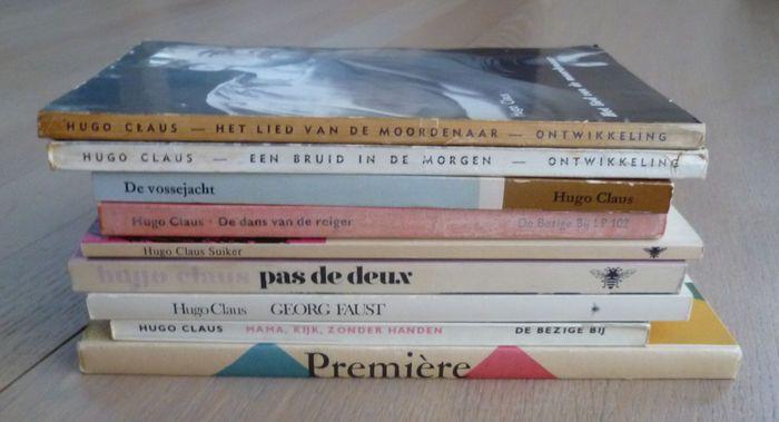 Hugo Claus - Kavel met 9 toneelstukken - 1956/1985 - Catawiki
