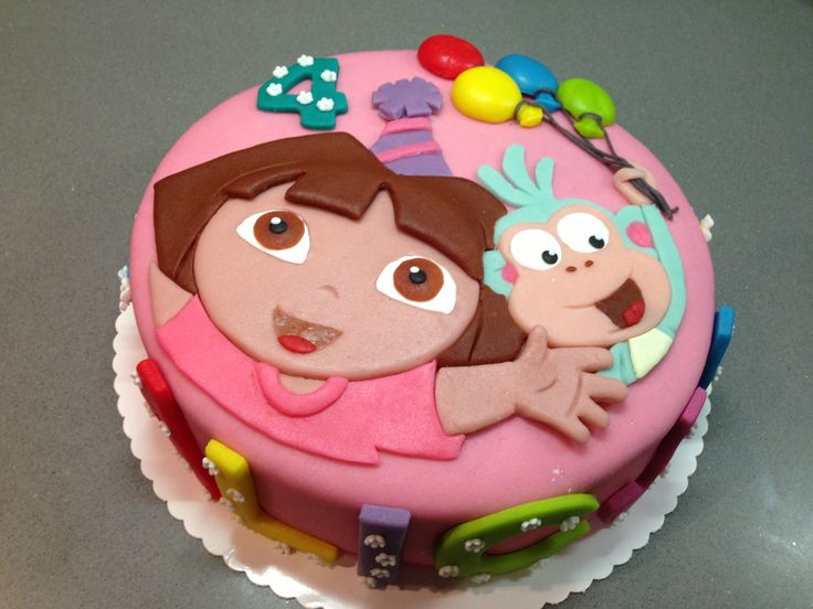 Dora The Explorer Birthday Cakes Pinterest