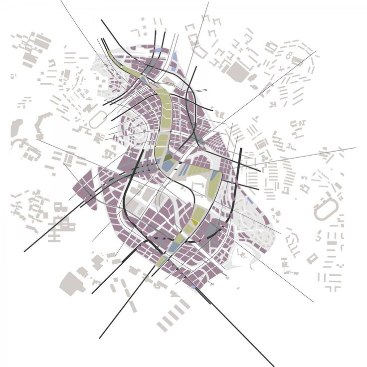 Site Map Diagram: One North Masterplan - Masterplans - Zaha Hadid Architects