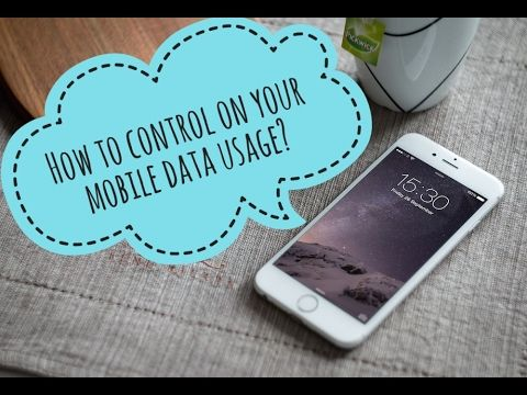 How to control on your mobile data usage?