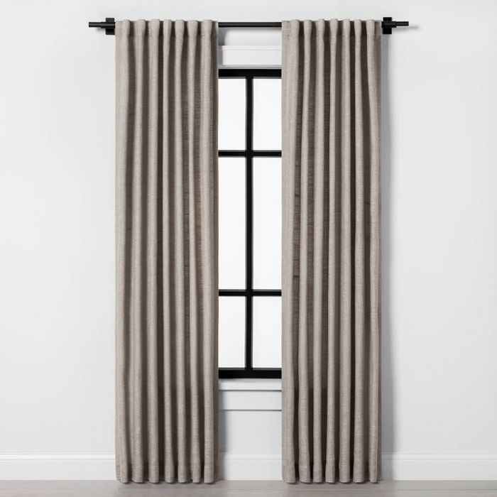 84 Curtain Panel Pebble Hearth Hand With Magnolia In 2020