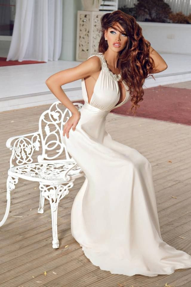 17 best images about bianca dragusanu on pinterest her for Wedding dresses for large breasts