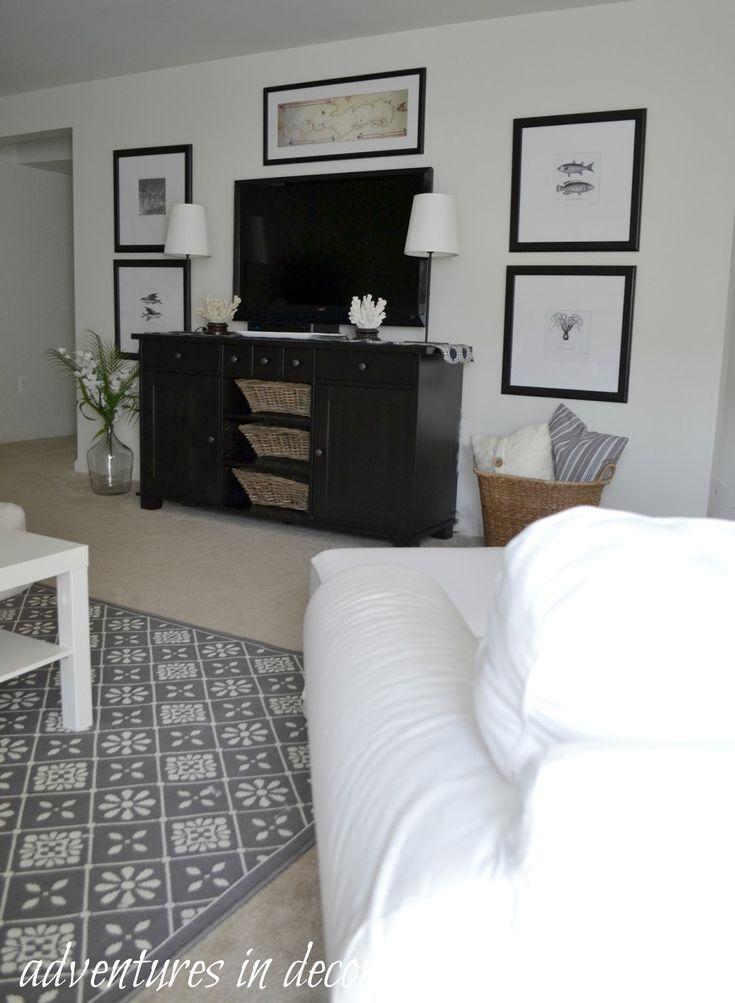 Best Decorating Around Tv Ideas On Pinterest Tv Wall Decor - Decorating the living room around the tv