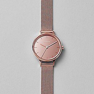 Anita Mirror Steel Mesh Watch