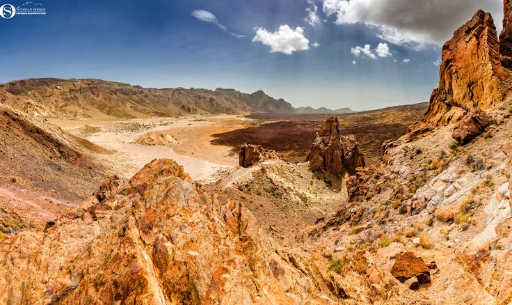 Mirador de Llano de Ucanca - Mirador de Llano de Ucanca close to El Teide…