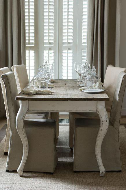 Riviera Maison Tafel en stoelen