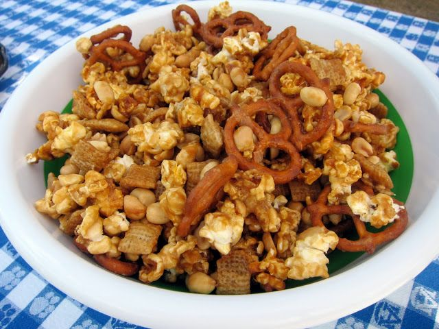 Sweet & Salty Party Mix – Football Friday | Plain Chicken®
