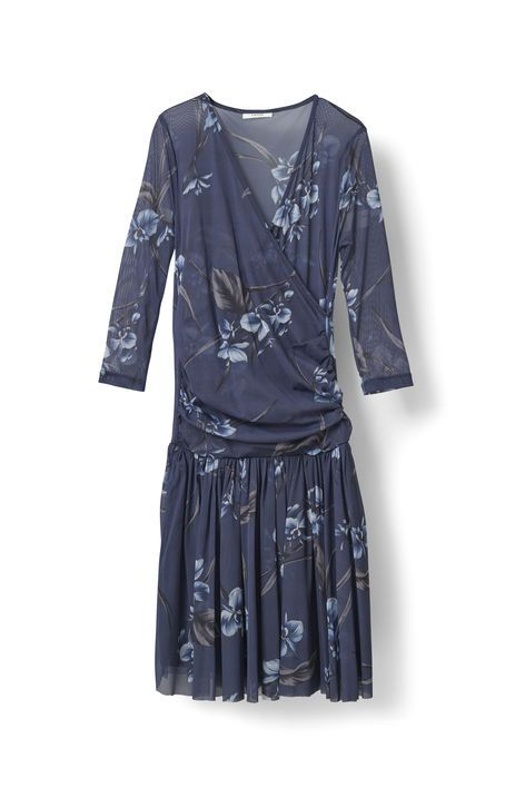 Etsu Mesh Dress, Iris Orchid