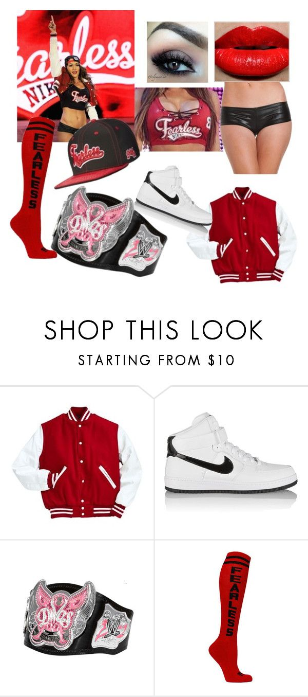"""""""Nikki Bella"""" by fer-d ❤ liked on Polyvore featuring NIKE, Monday and Alivila.Y Fashion"""