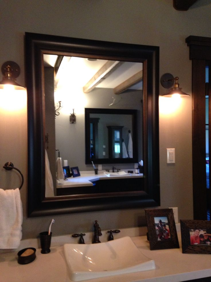 17 Best Images About Frames For Existing Mirrors On