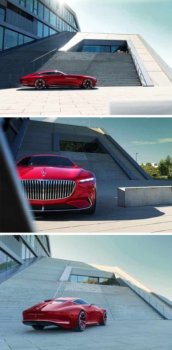 Every perspective shows that the Vision Mercedes- Maybach 6 is a reinterpretation of classic, aesthetic principles. Photos by Frederic Seemann.(www.fredericseemannphotography.de)