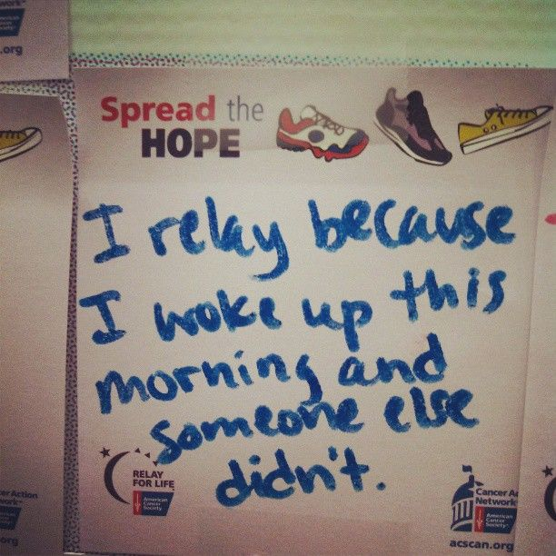 Wall Of Hope Inspiration #USTRelay