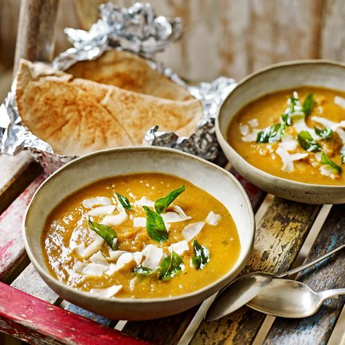 Original Spices Ras el Hanout voegt een warme en intense smaak toe aan deze zoete pompoensoep.