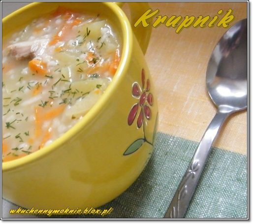 Barley Soup | Krupnik (in Polish)