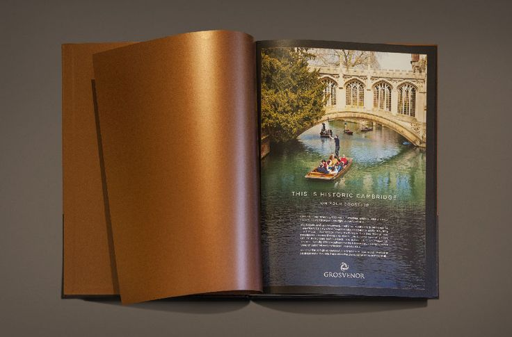 Parkside Place is a luxury residential scheme which was developed at the heart of the quintessential city of Cambridge, Grosvenor asked Siren to design a brand and marketing campaign that would best reflect this.