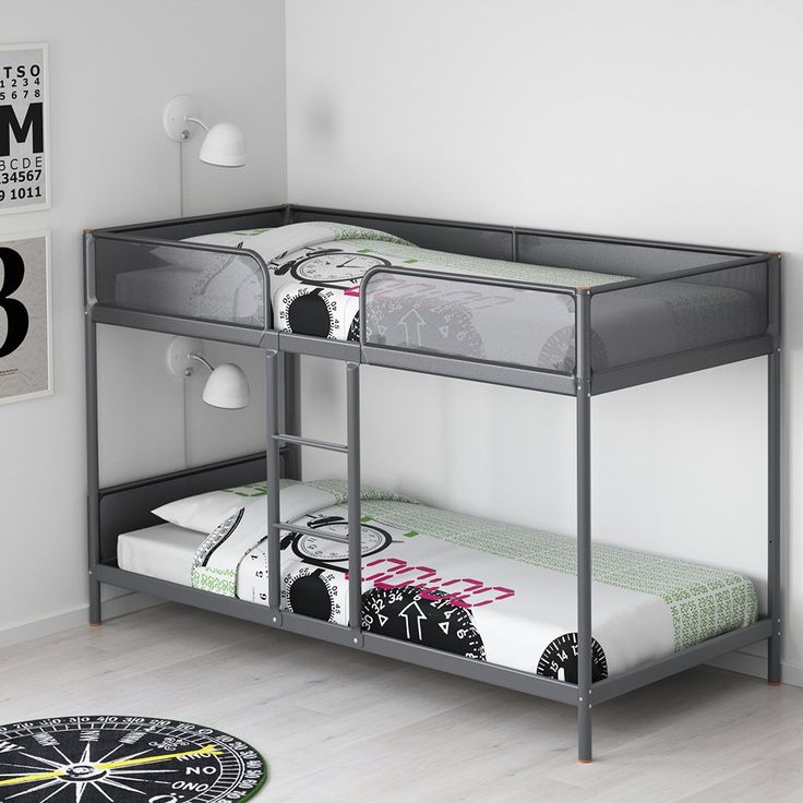 les 25 meilleures id es de la cat gorie lit mezzanine ikea. Black Bedroom Furniture Sets. Home Design Ideas