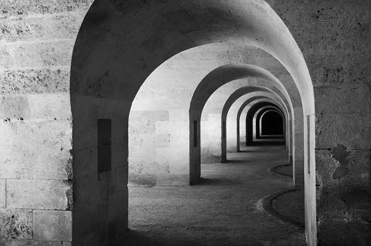 Arches at La Mola by Charlie Pragnell on 500px