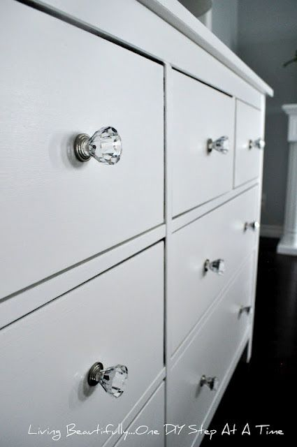 Redoing dresser for Edens room!!! This is result I would love!!!