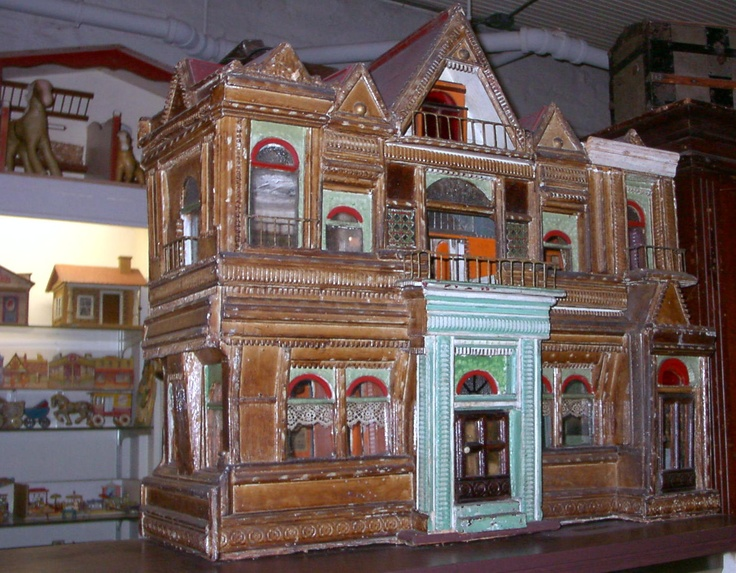 Dollhouse Exhibition And Toy: Antique Toy Museum Baltimore Collection Of Anne Smith