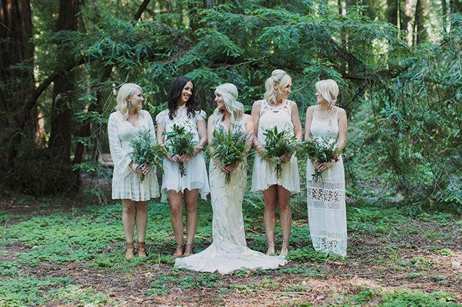 redwoods bridesmaids