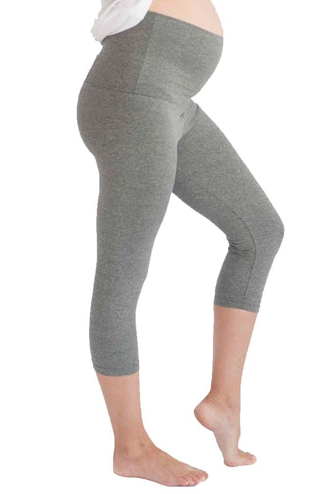 Belabumbum Active Collection Convertible Maternity Capri www.duematernity.comActive Pant | Maternity Clothes