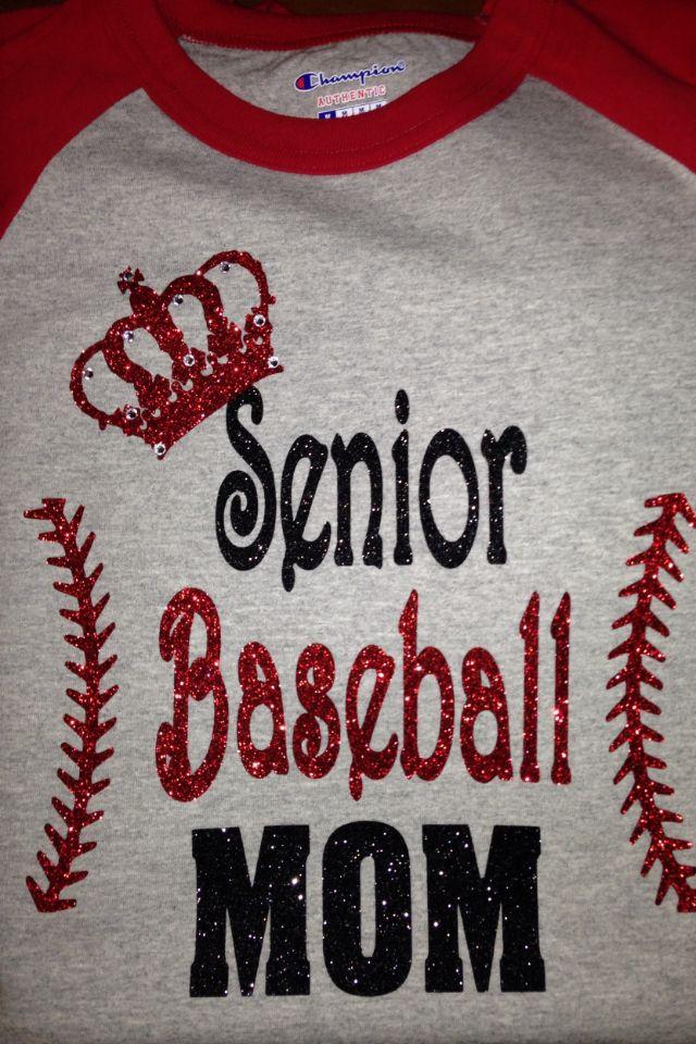 Senior Baseball Mom | Senior baseball night | Pinterest ...