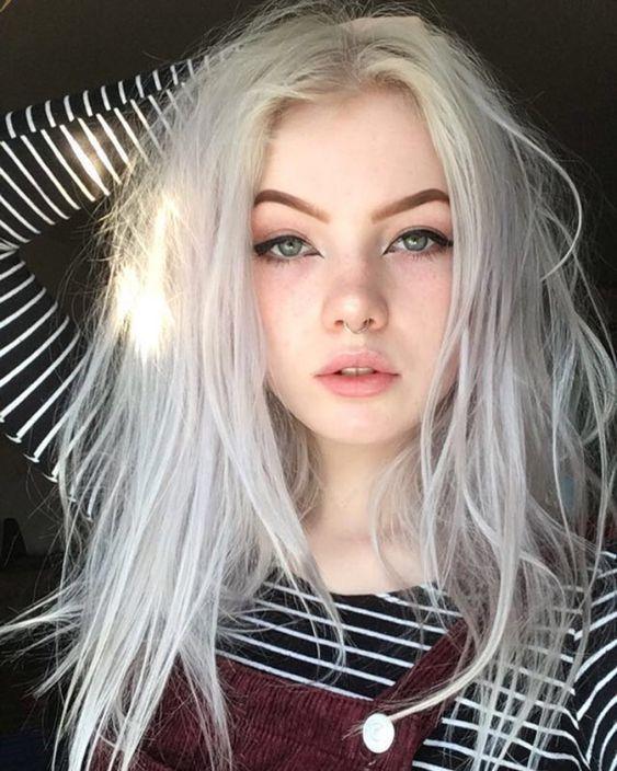 Cute Aesthetic Makeup And Hair