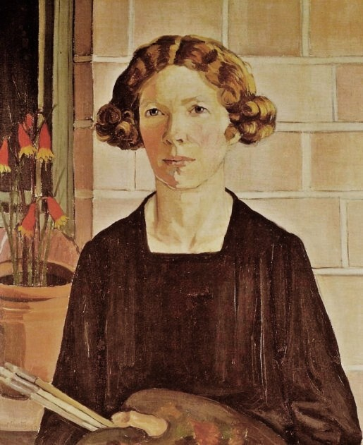 1875 Margaret Preston (Australian artist, 1875–1963) Self Portrait  1930