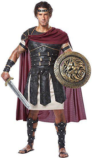 Römischer Gladiator Kostüm Herren, Gr. -XL