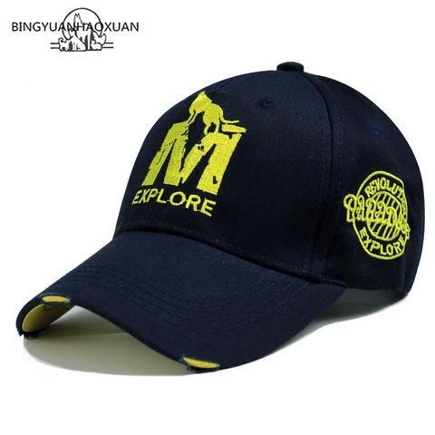 c329772f68a BINGYUANHAOXUAN High Quality Brand Letter Snapback Cap Cotton Baseball Cap  For Adult Men Women Hip Hop Dad Hat Bone Garros