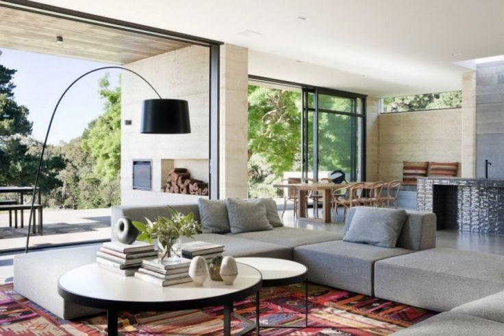 moderne mobel wohnzimmer exotische pflanzen moderne mbel moderne ...