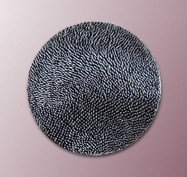Wall Sculpture Round Wall Decor 3D Wall Decor by JeemadoDecor