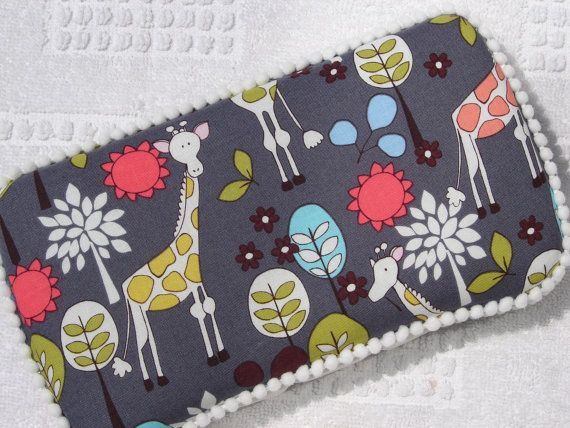 The Couture Mama Diaper Wipe Case in Grey by thecouturemama, $12.95