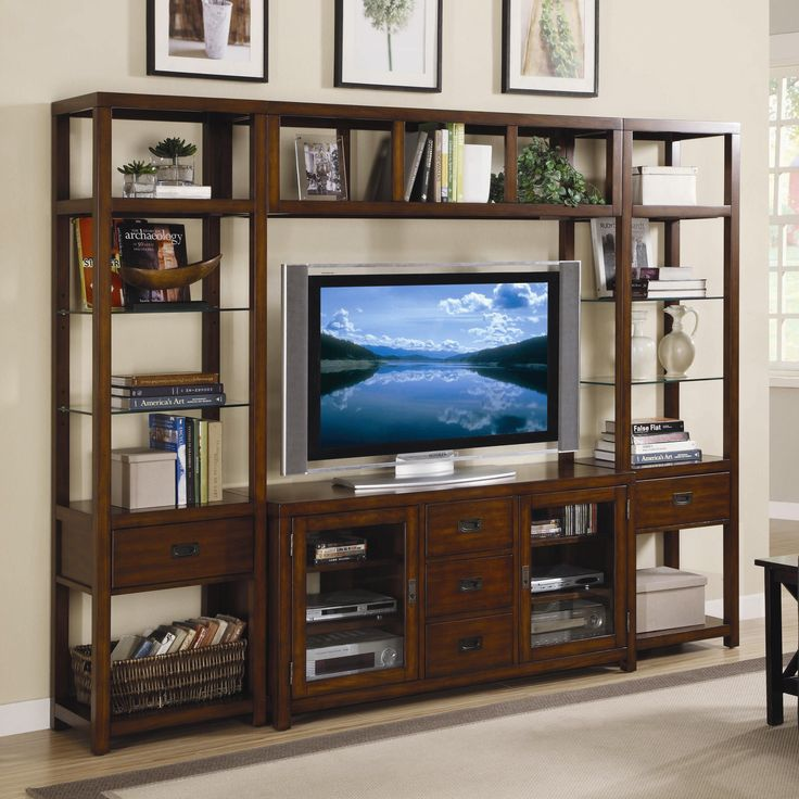 47 best Wall Units images on Pinterest   Tv walls, Entertainment ...
