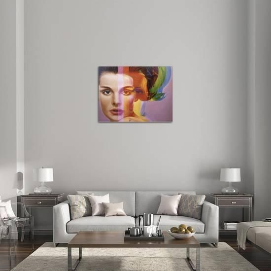 Spectrum Stretched Canvas Print by Richard Phillips at Art.com
