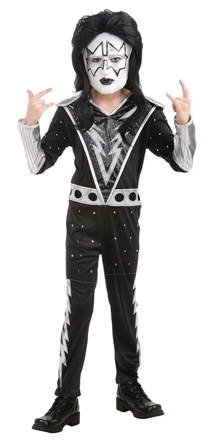 Boys Kiss Spaceman Ace Frehley Rock Star Costume -- Check this awesome image  : Kids halloween costumes