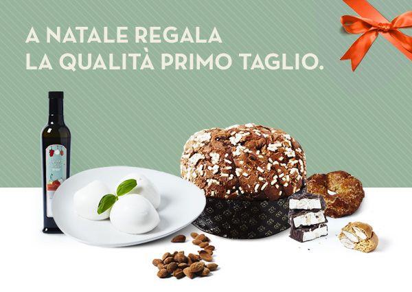 Questo Natale regala la qualità Primo Taglio! Scoprite di più su www.primotaglio.it