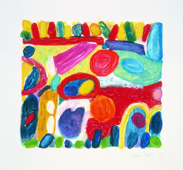 Gillian Ayres | Pheasant Tail (1999) | Available for Sale | Artsy