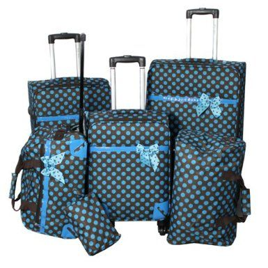 26 best Polka Dot Luggage Sets images on Pinterest | Luggage sets ...