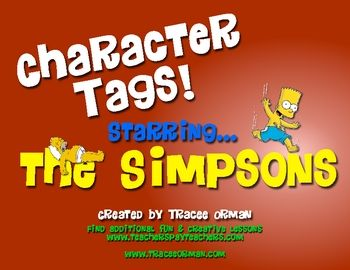 Students love to tag one another in pictures on Facebook.  Use that same concept in a novel study (or any reading activity)... FREE download!