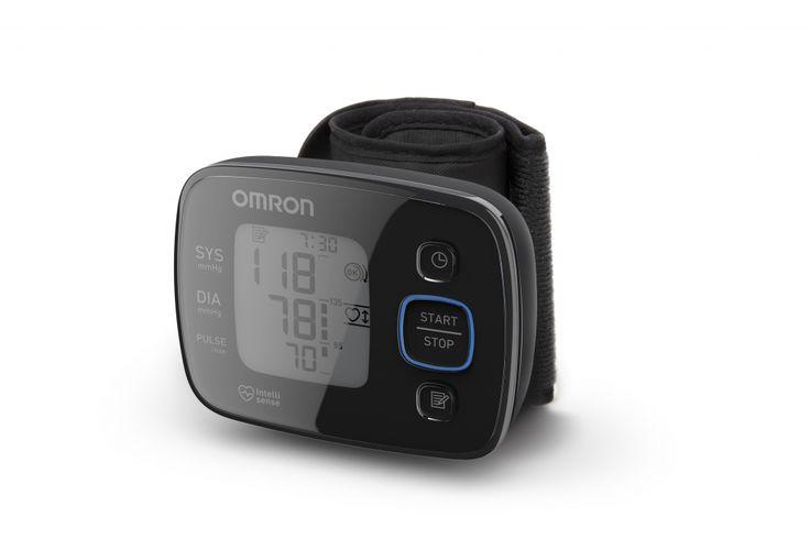 """OMRON MIT Precision 5 Új vonalú """"Black Line"""" vérnyomásmérő készülék"""
