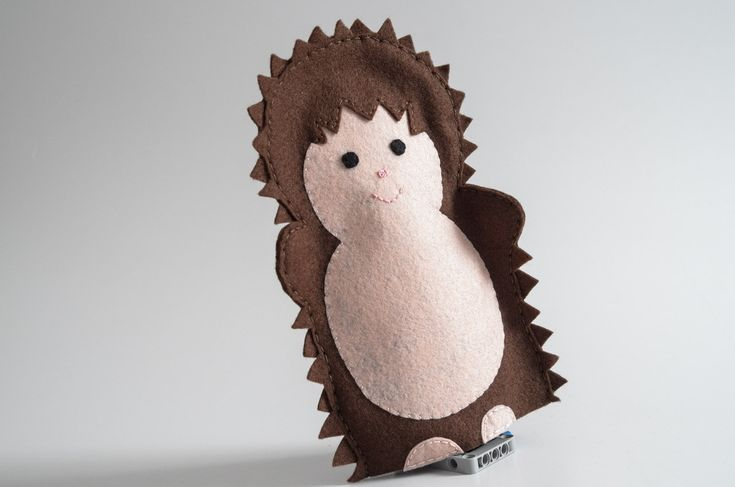 Hedgehog puppet  - hedgehogs, porcupine, woodland, gift for her, hedgehog gift, gift - by KinkinPuppets on Etsy
