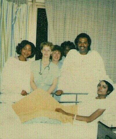 Michael Jackson in hospital, 1984