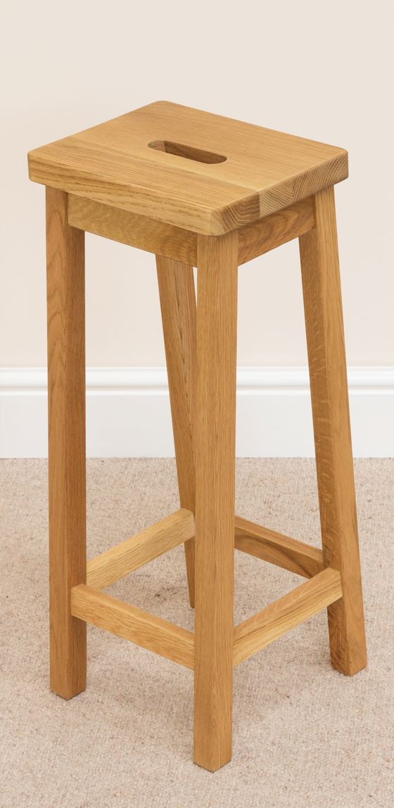 Small solid oak refectory bar stools for kitchens bars and pubs. & 28 best Oak Bar Stools u0026 Kitchen Stools images on Pinterest ... islam-shia.org