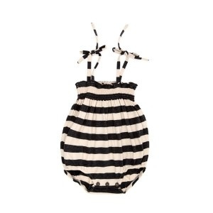 romper in stripes!Chubby Baby, Stripes Rompers, Clothing, Black And White, Black White, Baby Girls Rompers, Baby Fashion, Baby Rompers, Adult Rompersbut