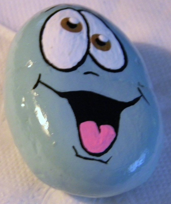 ** $3.00 each plus $5.00 S/H ; For First item. Additional items Shipping and Handling is Free to the same address. Anywhere in the USA...   These hand painted Whimsical Rocks are...